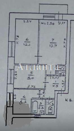 Продается 3-комнатная квартира на ул. Радостная — 38 000 у.е. (фото №2)