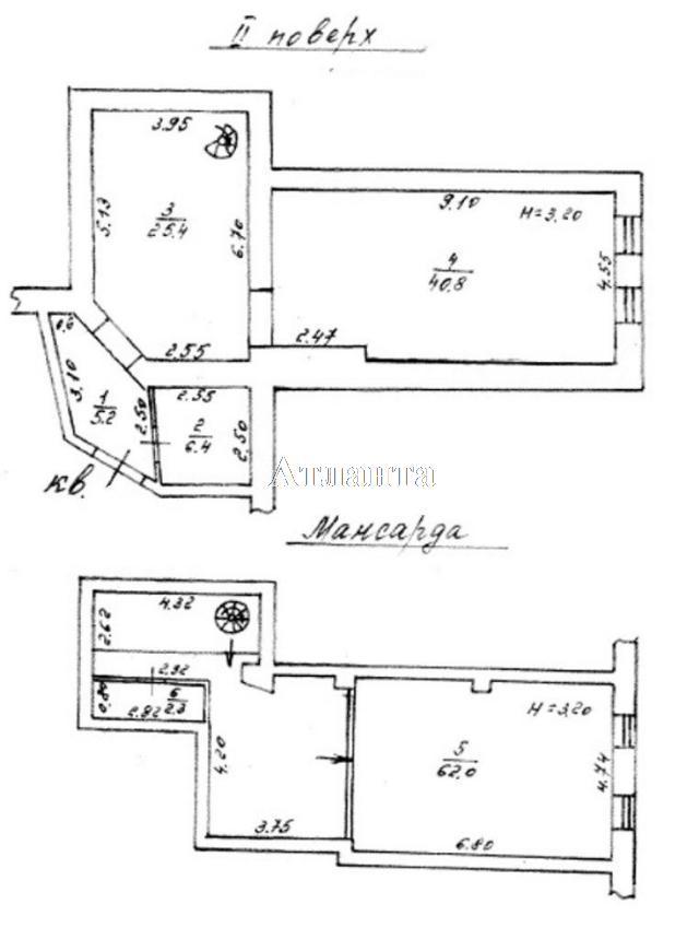 Продается 2-комнатная квартира на ул. Троицкая — 92 000 у.е.