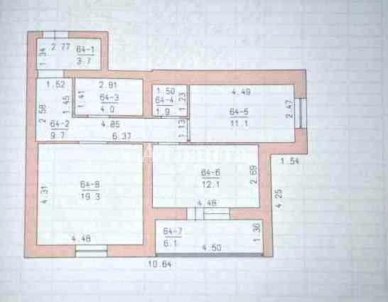 Продается 2-комнатная квартира на ул. Крупской Надежды — 45 000 у.е. (фото №6)
