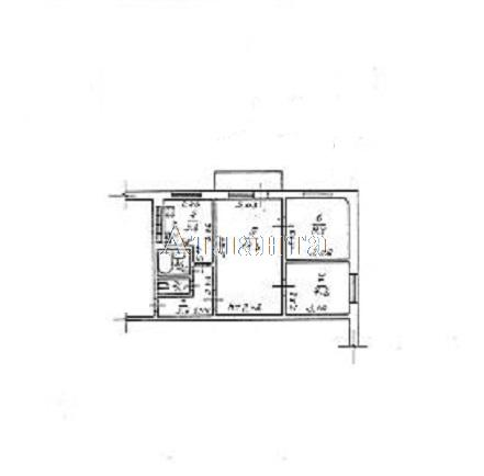 Продается 3-комнатная квартира на ул. Маршала Жукова — 37 000 у.е.