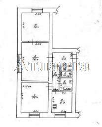 Продается 3-комнатная квартира на ул. Овидиопольская Дорога 3 — 59 000 у.е. (фото №7)
