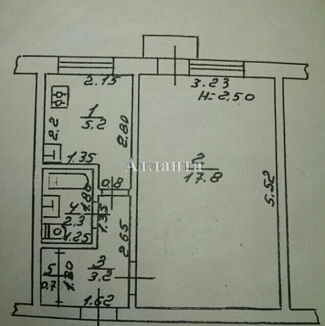 Продается 1-комнатная квартира на ул. Заболотного Ак. — 18 000 у.е. (фото №8)