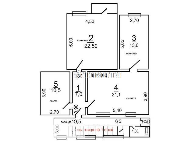Продается 3-комнатная квартира на ул. Кузнечная — 95 000 у.е.