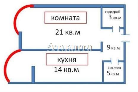 Продается 1-комнатная квартира в новострое на ул. Маршала Говорова — 52 000 у.е.