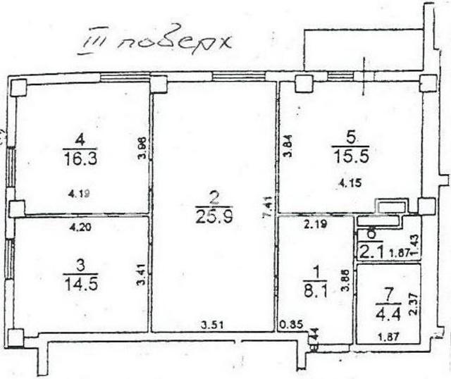 Продается 3-комнатная квартира в новострое на ул. Грушевского Михаила — 42 000 у.е.