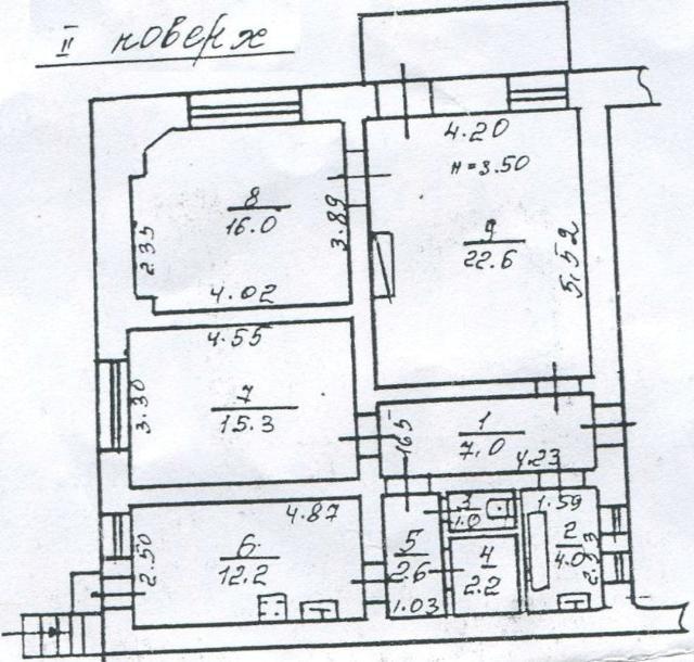 Продается 3-комнатная квартира на ул. Дидрихсона — 45 000 у.е. (фото №9)