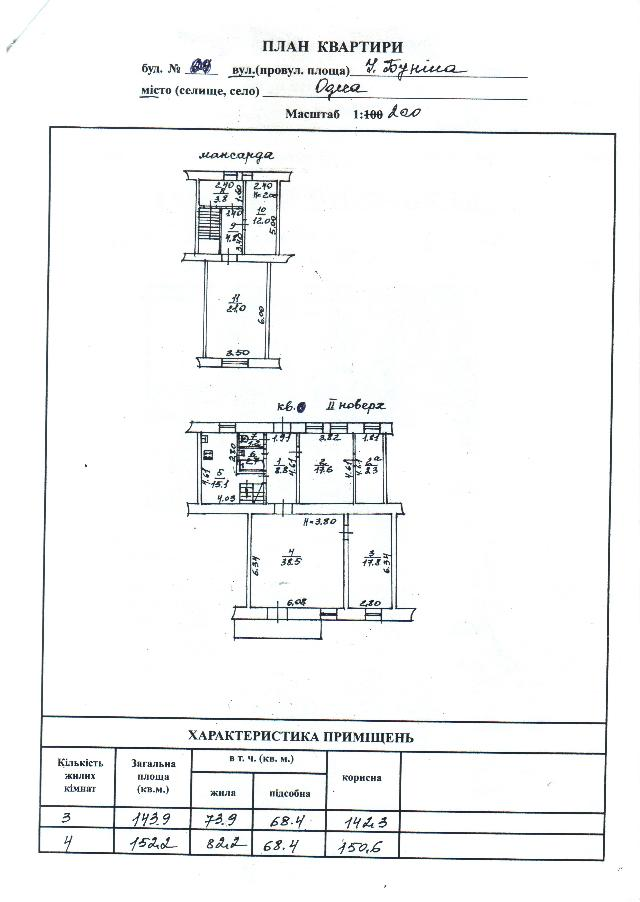 Продается 6-комнатная квартира на ул. Бунина — 115 000 у.е. (фото №10)