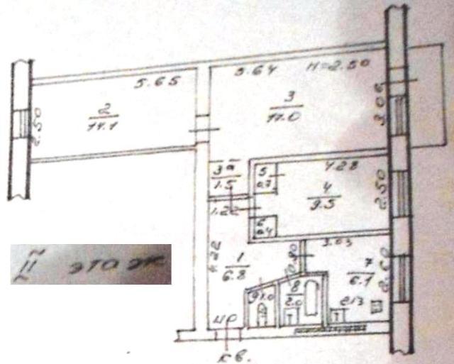 Продается 3-комнатная квартира на ул. Героев Сталинграда — 34 000 у.е. (фото №12)