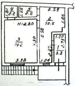 Продается 1-комнатная квартира на ул. Ризовская — 23 000 у.е. (фото №5)