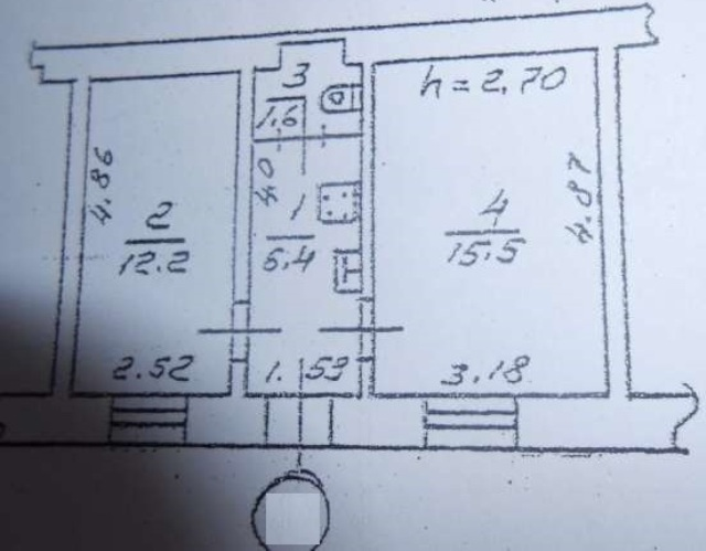 Продается 2-комнатная квартира на ул. Спиридоновская — 29 000 у.е. (фото №12)