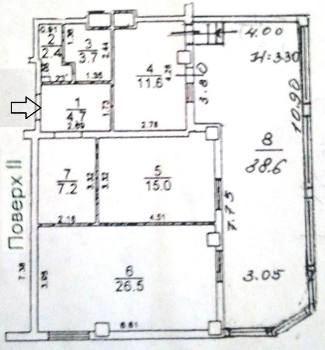 Продается 2-комнатная квартира на ул. Грушевского Михаила — 60 000 у.е. (фото №13)