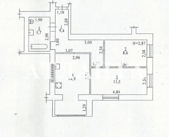 Продается 2-комнатная квартира в новострое на ул. Грушевского Михаила — 36 000 у.е. (фото №3)