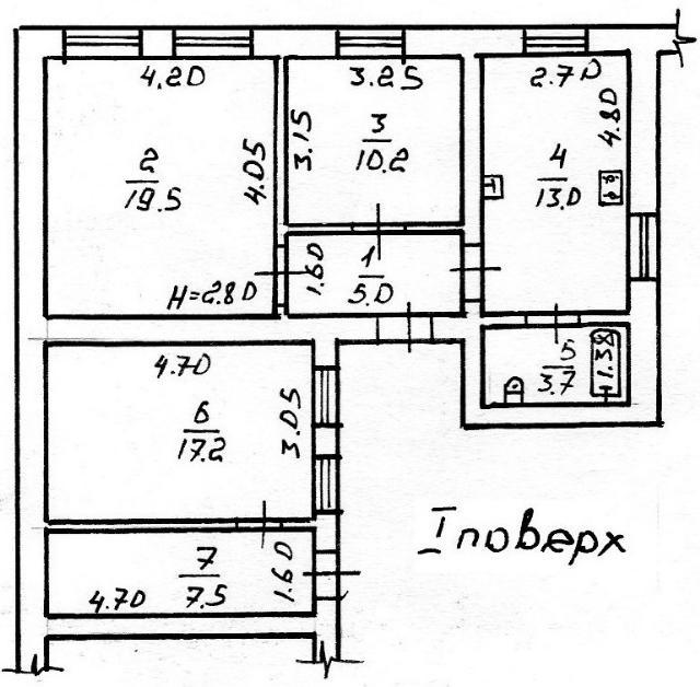 Продается 3-комнатная квартира на ул. Раскидайловская — 50 000 у.е. (фото №11)