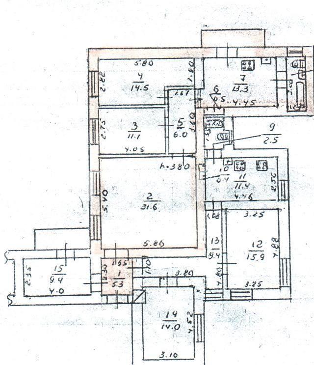 Продается 6-комнатная квартира на ул. Дерибасовская — 179 000 у.е. (фото №10)