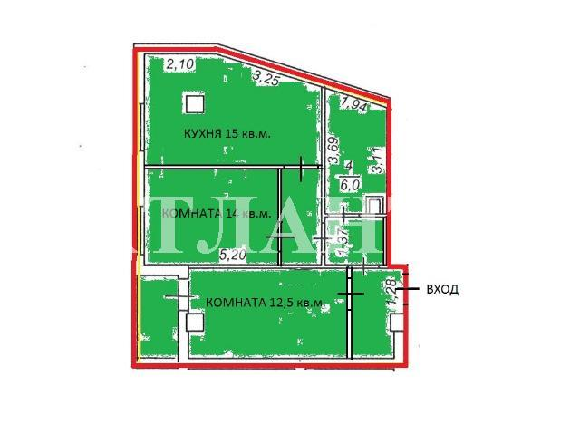 Продается 2-комнатная квартира на ул. Разумовская — 50 000 у.е. (фото №2)