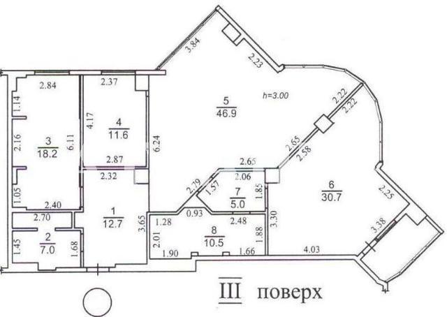 Продается 3-комнатная квартира на ул. Маршала Говорова — 235 000 у.е. (фото №11)