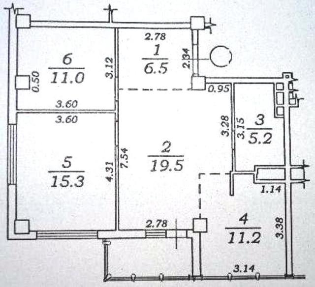 Продается 2-комнатная квартира в новострое на ул. Марсельская — 65 000 у.е. (фото №15)