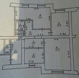 Продается 3-комнатная квартира на ул. Энтузиастов — 38 000 у.е. (фото №15)
