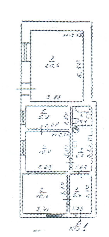 Продается 3-комнатная квартира на ул. Средняя — 60 000 у.е. (фото №2)
