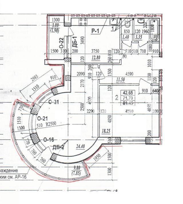 Продается 2-комнатная квартира в новострое на ул. Испанский Пер. — 55 000 у.е.