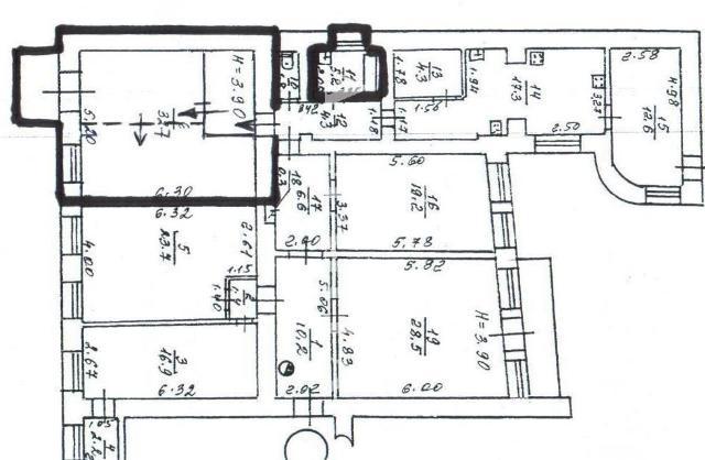 Продается 2-комнатная квартира на ул. Ляпунова Пер. — 18 000 у.е.