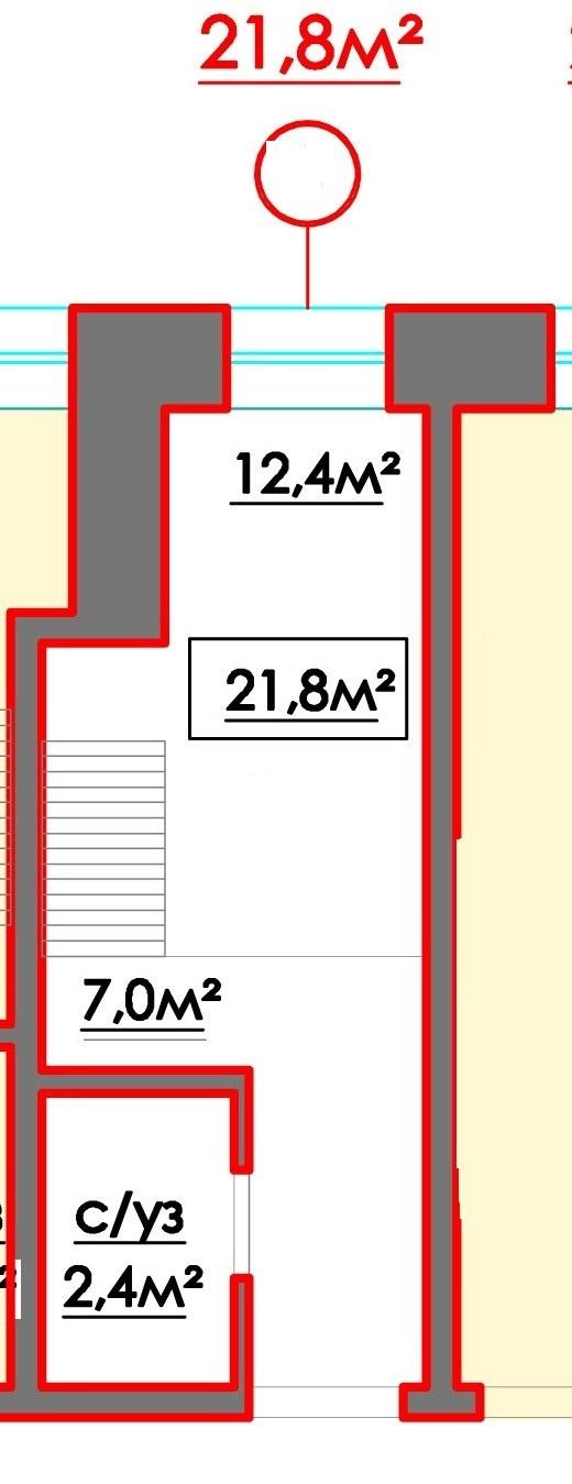 Продается 1-комнатная квартира на ул. 10 Апреля — 16 790 у.е. (фото №7)