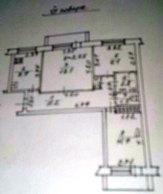 Продается 3-комнатная квартира на ул. Бреуса — 50 000 у.е. (фото №3)