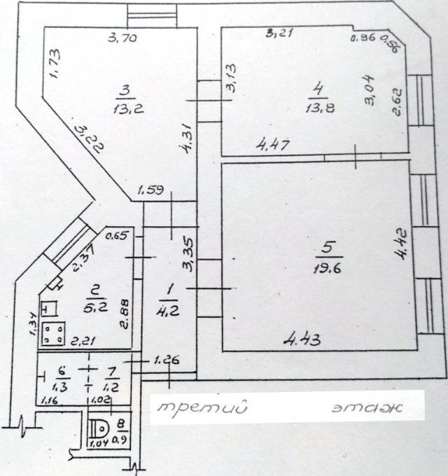 Продается 3-комнатная квартира на ул. Жуковского — 60 000 у.е. (фото №15)