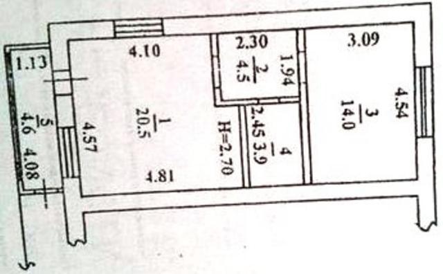 Продается 1-комнатная квартира на ул. Приморская — 65 000 у.е.