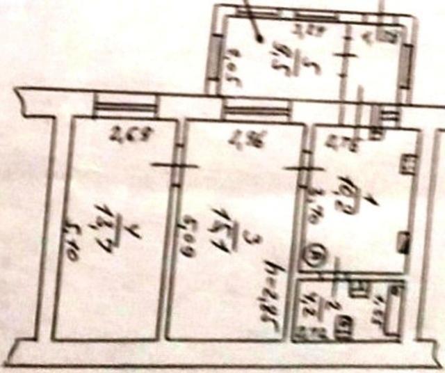 Продается 2-комнатная квартира на ул. Канатный Пер. — 50 000 у.е. (фото №15)