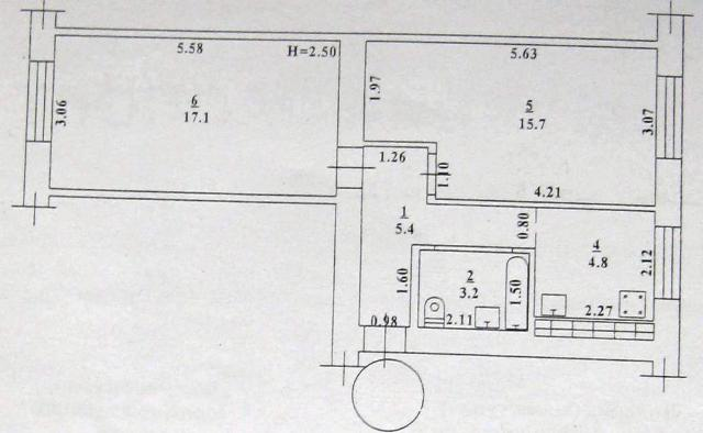 Продается 2-комнатная квартира на ул. Малиновского Марш. — 30 000 у.е. (фото №6)
