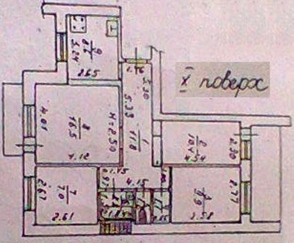 Продается 4-комнатная квартира на ул. Маловского — 57 000 у.е. (фото №10)