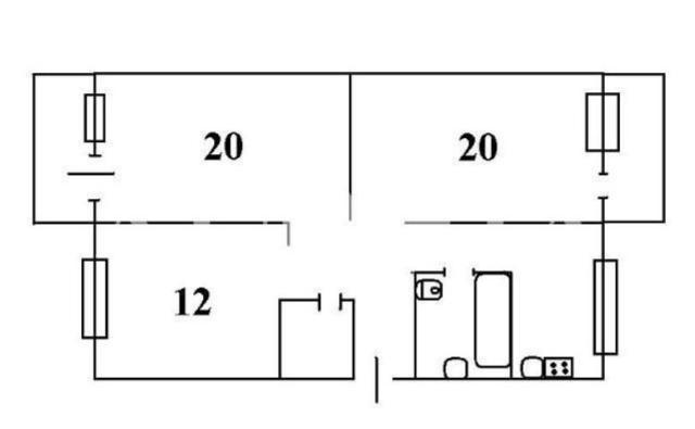 Продается 3-комнатная квартира на ул. Екатерининская — 82 000 у.е. (фото №8)