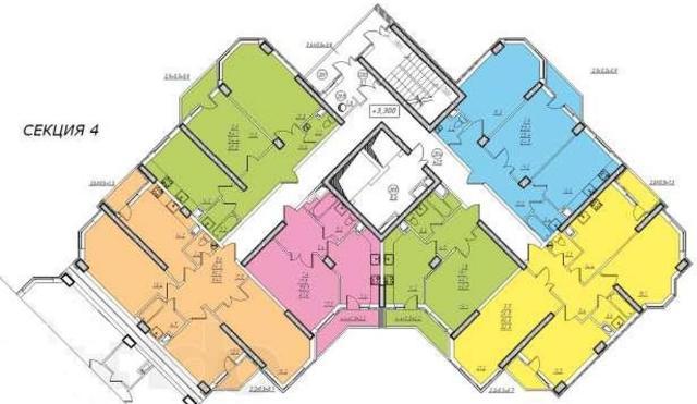 Продается 2-комнатная квартира на ул. Проценко — 42 000 у.е.