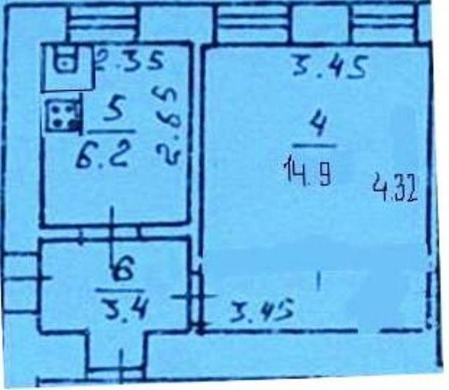 Продается 1-комнатная квартира на ул. Водопроводный 1-Й Пер. — 18 500 у.е. (фото №9)
