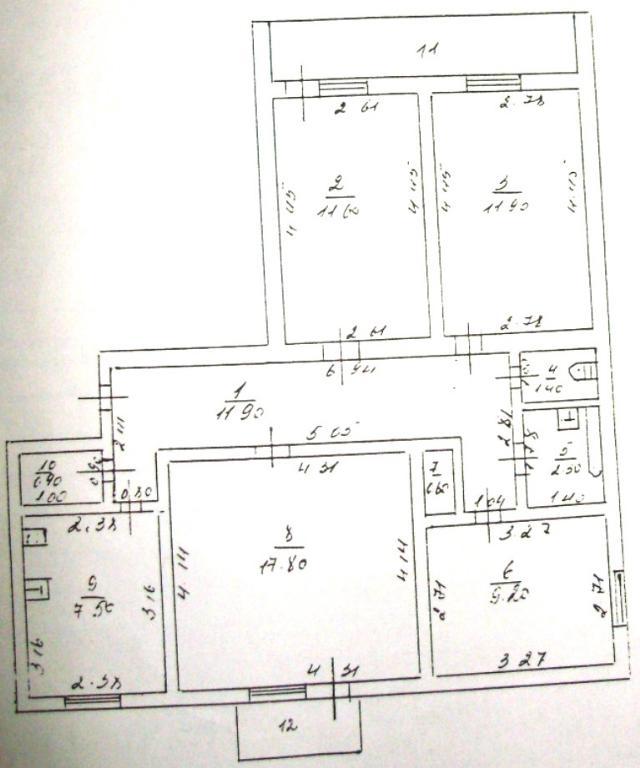 Продается 4-комнатная квартира на ул. Зеленая — 49 000 у.е. (фото №13)