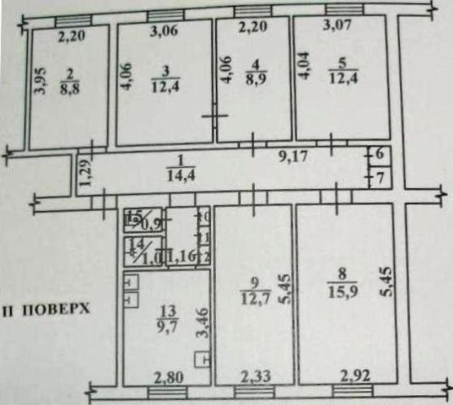 Продается 2-комнатная квартира на ул. Промышленная — 13 200 у.е. (фото №13)