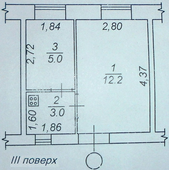 Продается 1-комнатная квартира на ул. Соборная Пл. — 18 500 у.е. (фото №5)