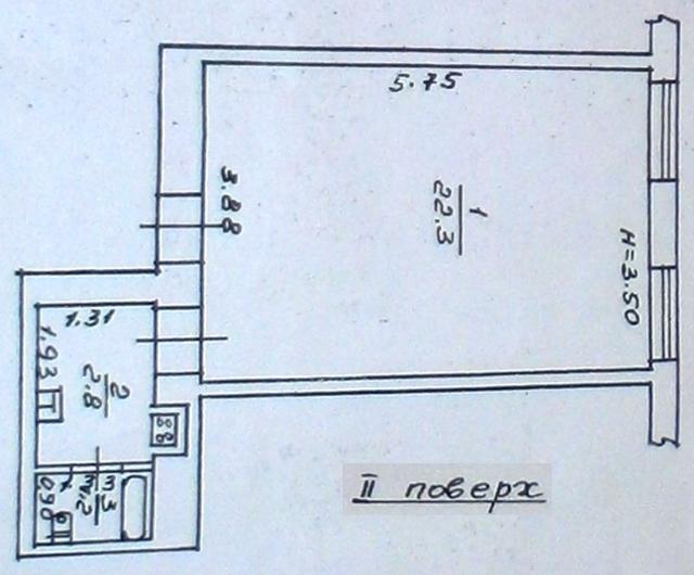 Продается 2-комнатная квартира на ул. Хмельницкого Богдана — 24 000 у.е. (фото №8)