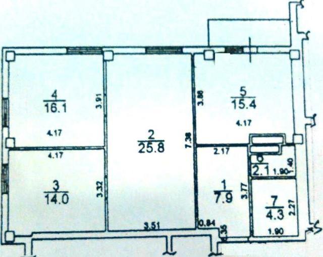 Продается 3-комнатная квартира в новострое на ул. Грушевского Михаила — 39 000 у.е.