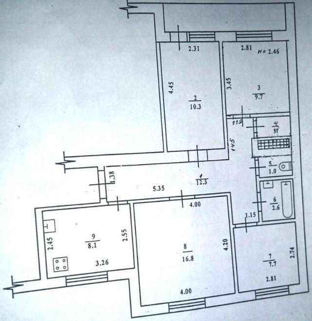 Продается 3-комнатная квартира на ул. Фонтанская Дор. — 70 000 у.е. (фото №15)