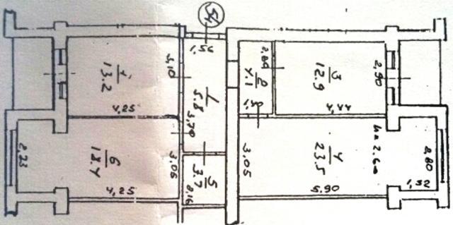 Продается 3-комнатная квартира на ул. Парковая — 43 000 у.е. (фото №15)
