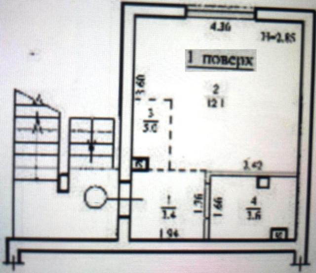Продается 1-комнатная квартира на ул. Церковная — 14 600 у.е. (фото №4)
