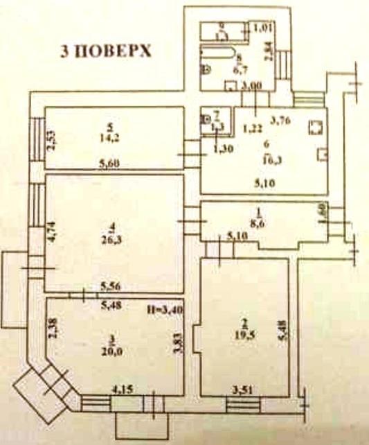 Продается 4-комнатная квартира на ул. Мясоедовская — 90 000 у.е. (фото №2)