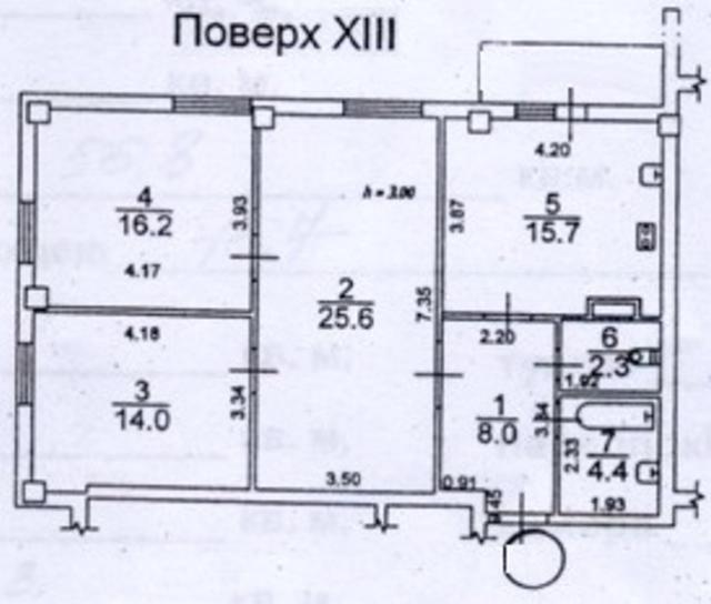 Продается 3-комнатная квартира на ул. Грушевского Михаила — 62 000 у.е. (фото №14)