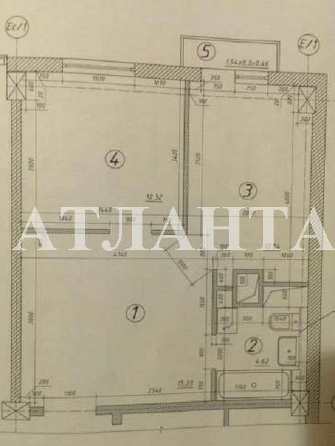 Продается 2-комнатная квартира на ул. Жемчужная — 37 000 у.е. (фото №2)