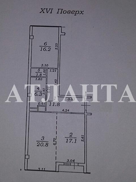 Продается 2-комнатная квартира на ул. Жемчужная — 85 000 у.е. (фото №15)