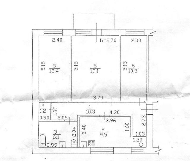 Продается 3-комнатная квартира на ул. Пантелеймоновская — 55 000 у.е. (фото №2)