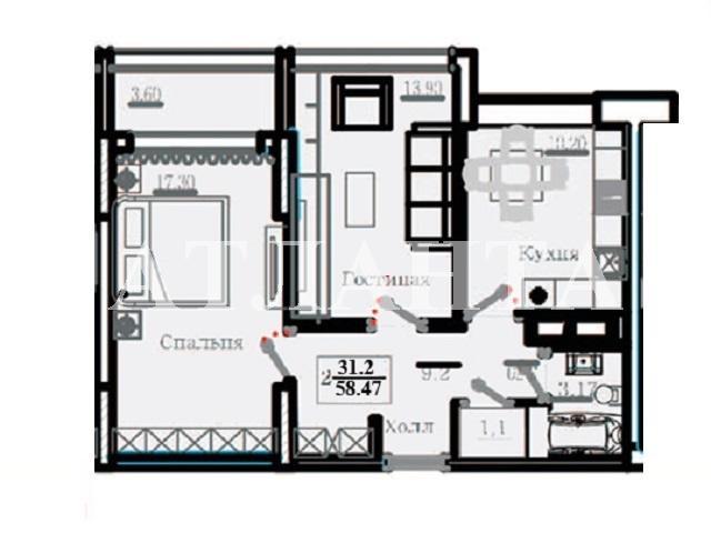 Продается 2-комнатная квартира на ул. Жемчужная — 52 000 у.е. (фото №8)