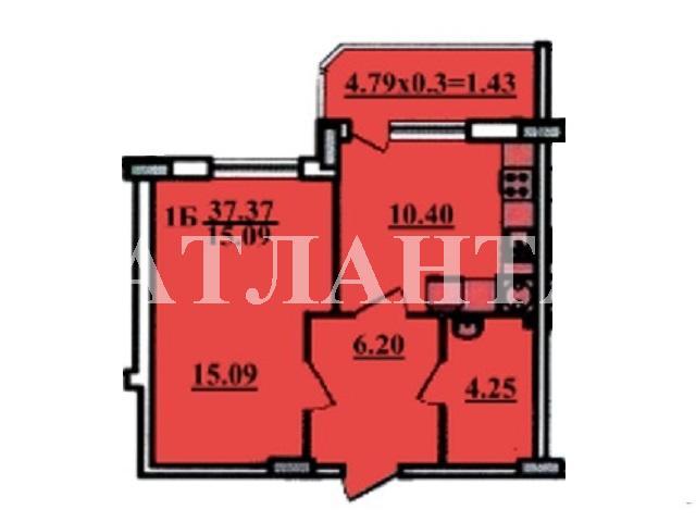 Продается 1-комнатная квартира в новострое на ул. Радужный М-Н — 24 500 у.е. (фото №2)